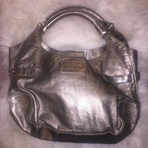 Kate Spade Silver Slouch Hobo Bag